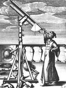 Johannes Hevelius, German Astronomer, 1647