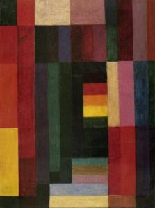 Horizontal/Vertikal by Johannes Itten