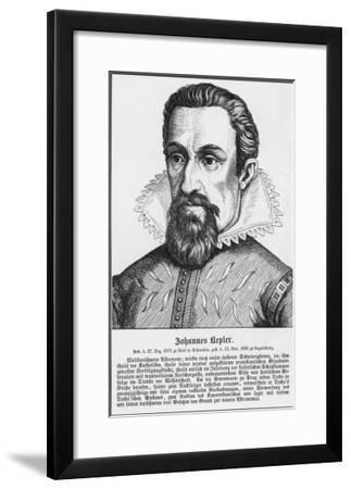 Johannes Kepler German Astronomer