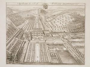 Dyrham Park, the Seat of William Blathwayt (C.1649-1717) by Johannes Kip