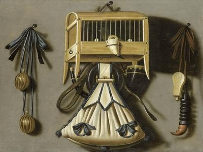 Still Life with Hunting Tackle
