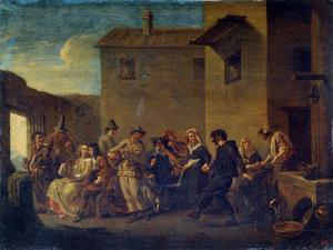 Carnival in Venice, 17th Century by Johannes Lingelbach