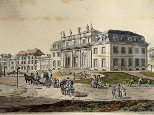The Adapted Godesberg in Bonn, Detail, 1790 by Johannes Lingelbach