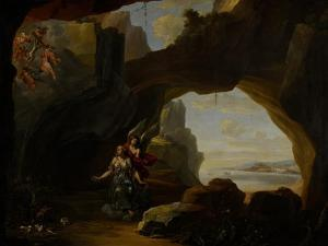 The Magdalen in a Cave, C.1650 by Johannes Lingelbach