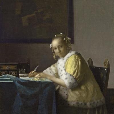 A Lady Writing, C. 1665