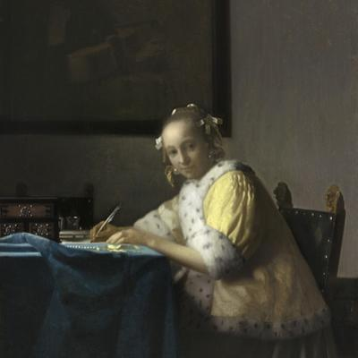 A Lady Writing, C. 1665