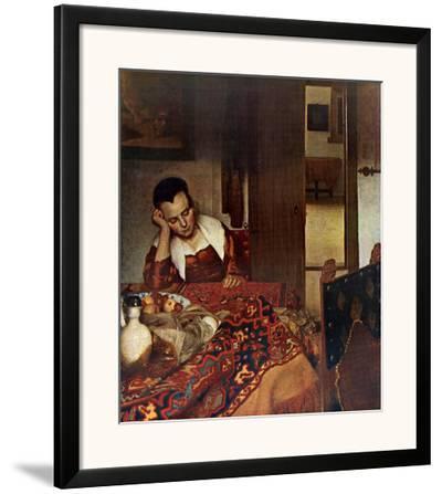 Girl Asleep at a Table, c.1657