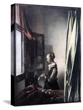 Girl Reading a Letter at an Open Window, C1657