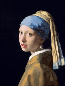 Girl with a Pearl Earring, C.1665-6 by Johannes Vermeer