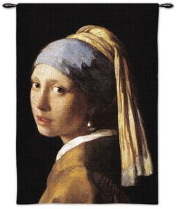 Girl with Pearl by Johannes Vermeer