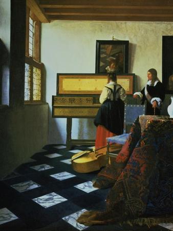 Lady at a Virginal, C1652-1675