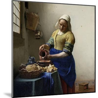 Milkmaid by Johannes Vermeer