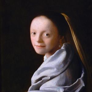 Study of a Young Woman, Ca. 1665-1667 by Johannes Vermeer