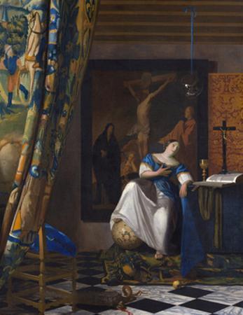 The Allegory of the Faith by Johannes Vermeer