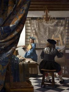 The Art of Painting (The Allegory of Painting), 1673 by Johannes Vermeer