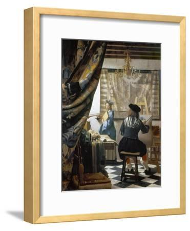 The Art of Painting (The Artist's Studio), C. 1666-68