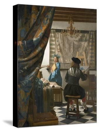 The Artist's Studio, C.1665-66
