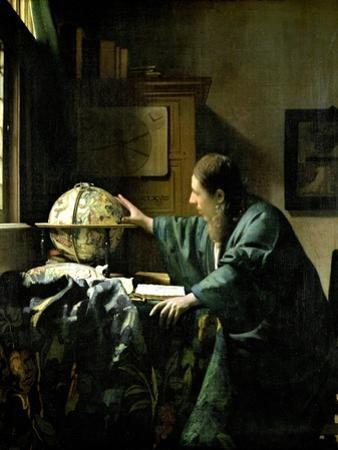 The Astronomer, 1668 by Johannes Vermeer