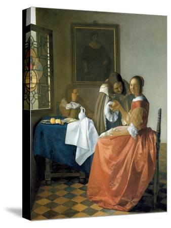 The Girl with the Wineglass, 1659-1660