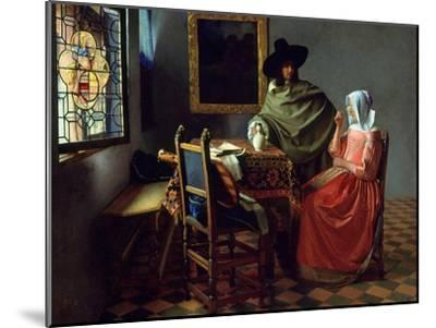 The Glass of Wine, Ca 1661 by Johannes Vermeer