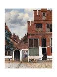 Street in Delft-Johannes Vermeer-Giclee Print
