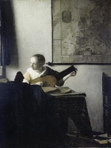 The Lute Player by Johannes Vermeer