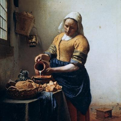 The Milkmaid, C1658 by Johannes Vermeer