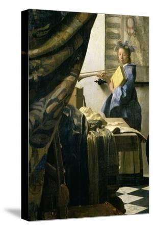 The Painter in His Studio, 1665-6