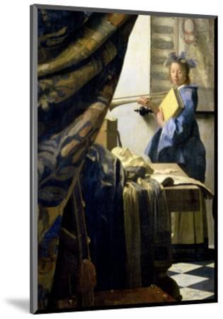 The Painter in His Studio, 1665-6 by Johannes Vermeer