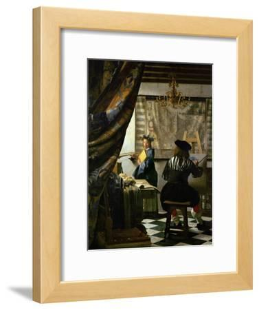 The Painter (Vermeer's Self-Portrait) and His Model as Klio