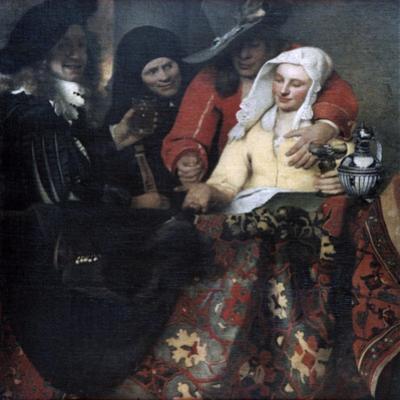 The Procuress, 1656