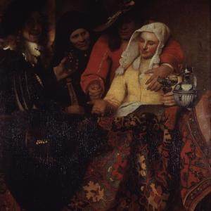 The Procuress, 1656 by Johannes Vermeer