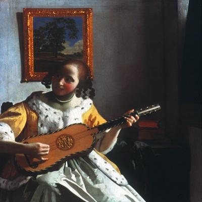 Vermeer: Guitar Player
