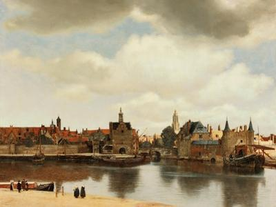View of Delft, about 1660 by Johannes Vermeer