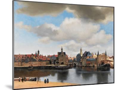View of Delft, C.1660-61 by Johannes Vermeer