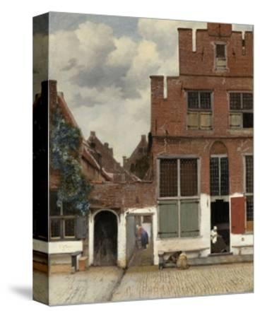 View of Houses in Delft, 1658