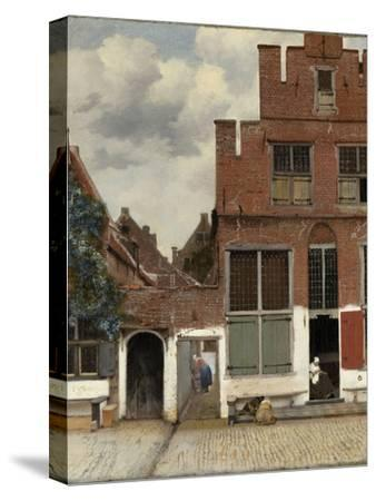 View of Houses in Delft, known as the Little Street by Johannes Vermeer