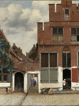 View of Houses in Delft, known as the Little Street