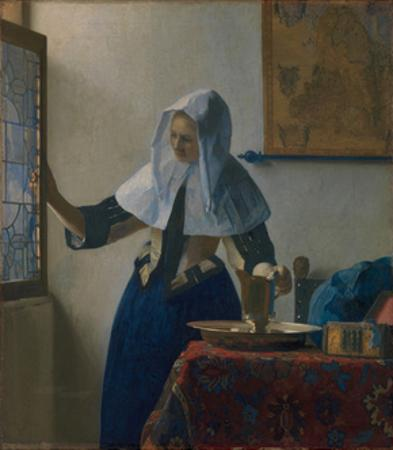 Young Woman with a Water Jug, c.1662 by Johannes Vermeer