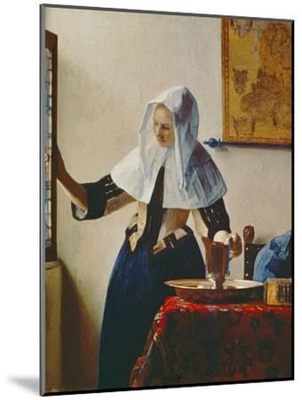 Young Woman with Jug of Water at the Window, about 1663 by Johannes Vermeer