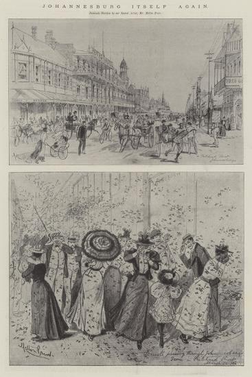 Johannesburg Itself Again-Melton Prior-Giclee Print