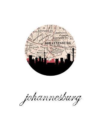 johannesburg-map-skyline