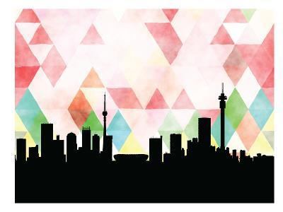 Johannesburg Triangle--Art Print