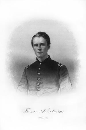 Adjutant Frazar Augustus Stearns, American Soldier