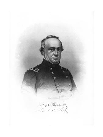 Henry Wager Halleck, American Soldier