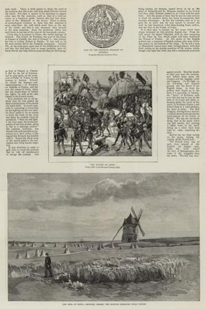 An Artist's Visit to the Battlefields of Crecy and Agincourt by John Absolon