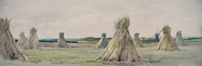Battlefield of Agincourt, 25th October 1415 by John Absolon