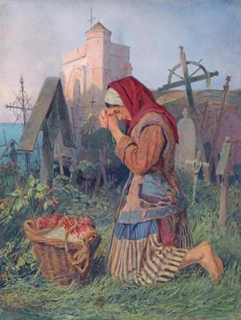 Knelt in Prayer by John Absolon