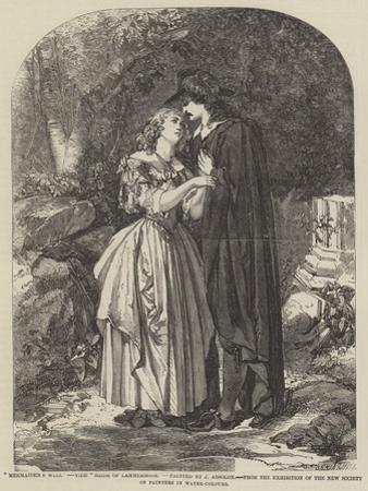 Mermaiden's Well, Vide Bride of Lammermoor by John Absolon