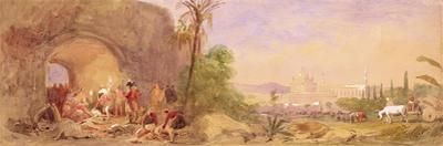 The Discovery of Tipu's body at the Water Gate at Seringapatam by John Absolon